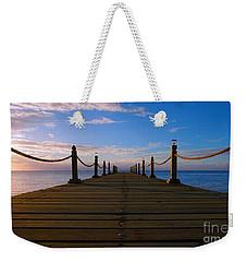 Sunrise Morning Bliss Pier 140a Weekender Tote Bag