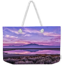 Sunrise On Antelope Island Weekender Tote Bag