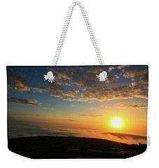 Sunrise On Cadillac Mountain Weekender Tote Bag