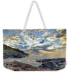 Sunrise On Christmas Cove Weekender Tote Bag