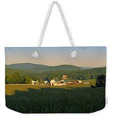 Sunrise On J J F In East Jewett Weekender Tote Bag