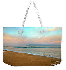 Weekender Tote Bag featuring the photograph Sunrise On Ka'anapali by Kelly Wade