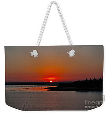 Sunrise On Lake Ray Hubbard Weekender Tote Bag