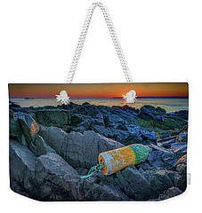 Weekender Tote Bag featuring the photograph Sunrise On Passamaquoddy Bay by Rick Berk