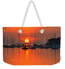 Sunrise On Salem Harbor Salem Ma Weekender Tote Bag