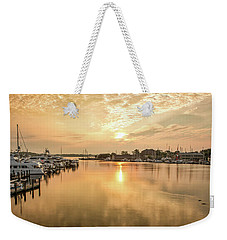 Sunrise On Spa Creek Weekender Tote Bag