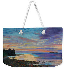 Sunrise On Tancook Island  Weekender Tote Bag by Rae  Smith PAC