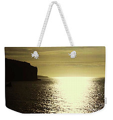 Weekender Tote Bag featuring the photograph Sunrise On The Almalfi Coast by Polly Peacock