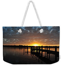 Sunrise On The Bayou Weekender Tote Bag by Michele Kaiser