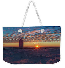 Sunrise On The Brocken, Harz Weekender Tote Bag
