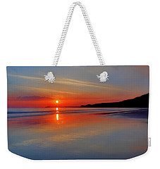 Weekender Tote Bag featuring the photograph Sunrise On The Coast by Roy McPeak