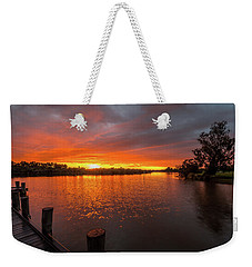 Sunrise On The Collie River Weekender Tote Bag