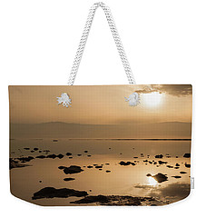 Sunrise On The Dead Sea Weekender Tote Bag