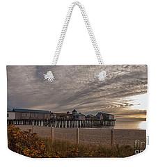 Sunrise On The Empty Beach Weekender Tote Bag