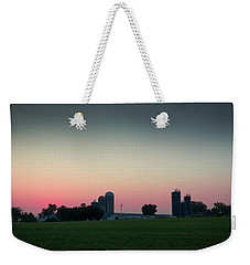 Sunrise On The Farm Weekender Tote Bag by Kenneth Cole