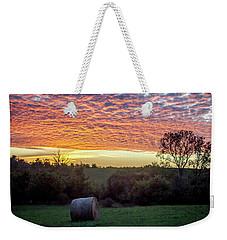 Sunrise On The Farm Weekender Tote Bag