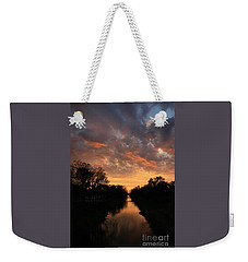 Sunrise On The Illinois Michigan Canal Weekender Tote Bag