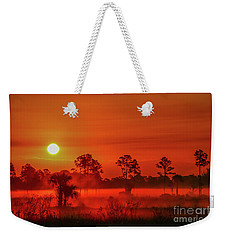 Sunrise On The Marsh Weekender Tote Bag