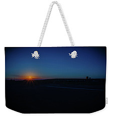 Sunrise On The Reservation Weekender Tote Bag by Mark Dunton