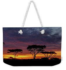 Sunrise On The Serengeti Weekender Tote Bag