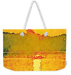 Sunrise On Town Lake Weekender Tote Bag