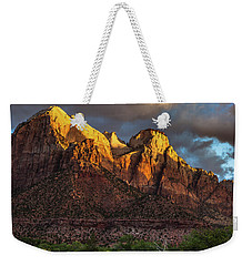 Sunrise On Zion National Park Weekender Tote Bag