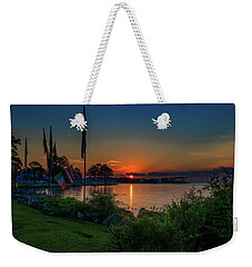 Sunrise On The Neuse 3 Weekender Tote Bag