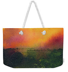 Sunrise Over A Marsh Weekender Tote Bag