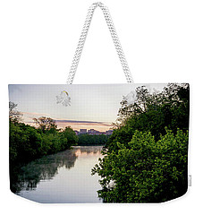 Sunrise Over Austin Texas Weekender Tote Bag by Art Block Collections