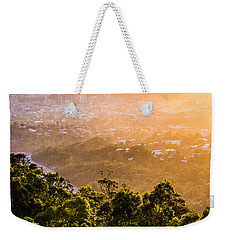 Sunrise Over Brisbane Weekender Tote Bag