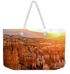 Sunrise Over Bryce Canyon Weekender Tote Bag