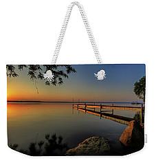 Sunrise Over Cayuga Lake Weekender Tote Bag