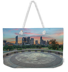 Sunrise Over Downtown Austin, Texas 3 Weekender Tote Bag by Rob Greebon