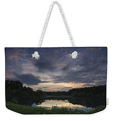 Sunrise Over Indigo Lake Weekender Tote Bag