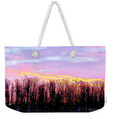 Sunrise Over Lake Weekender Tote Bag