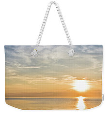 Sunrise Over Lake Michigan In Chicago Weekender Tote Bag