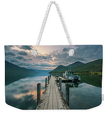 Sunrise Over Lake Rotoroa Weekender Tote Bag
