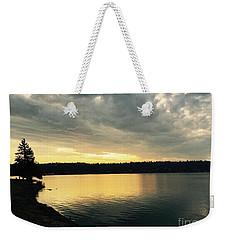 Sunrise Over Lake Washington Weekender Tote Bag