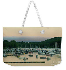 Sunrise Over Mallets Bay Variations - Three Weekender Tote Bag