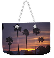 Sunrise Over Mountains Palm Desert Weekender Tote Bag by Jay Milo