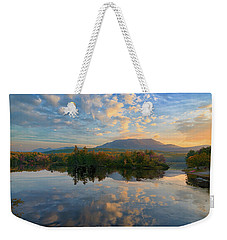 Sunrise Over Mt. Katahdin Weekender Tote Bag
