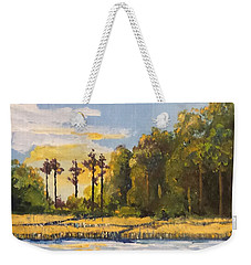 Sunrise Over Queens Creek Weekender Tote Bag