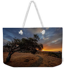 Sunrise Over San Luis Obispo Weekender Tote Bag