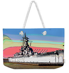 Sunrise Over The Alabama Weekender Tote Bag by Charles Shoup