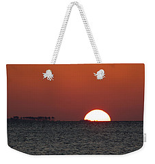 Sunrise Over The Bay 5x7 Weekender Tote Bag