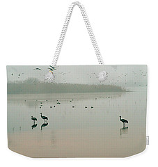 Sunrise Over The Hula Valley Israel 2 Weekender Tote Bag