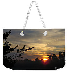 Sunrise Over The Trees Weekender Tote Bag