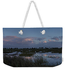 Sunrise Over The Wetlands Weekender Tote Bag
