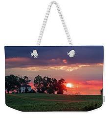 Sunrise Over Virginia Farm Weekender Tote Bag