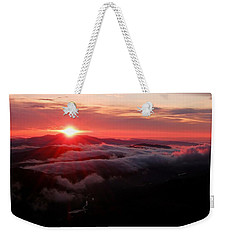 Sunrise Over Wyvis Weekender Tote Bag
